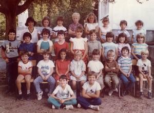 1985-1986  Classe de Mme Roth