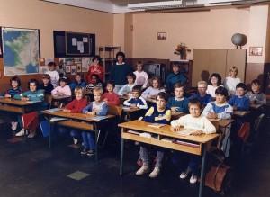 1986-1987 Classe de Mme Derr