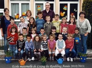 2010-2011 Classe de Mlle Zubzyck