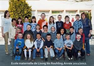 2011-2012 Classe de Mlle Zubzyck
